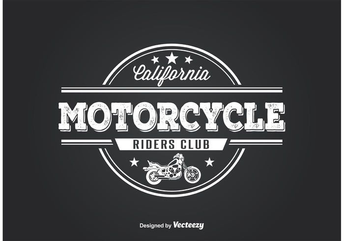 Free vector Motorcycle Club T Shirt Design #28065