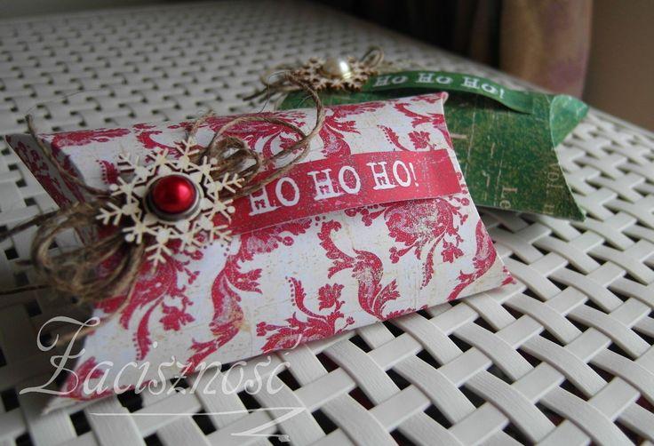 Ręcznie robione świąteczne pudełeczka
