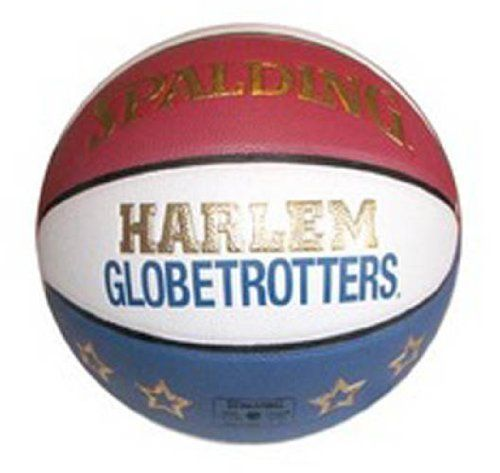 Spalding Harlem Globetrotters Replica Game Indoor/Outdoor Basketball by Spalding. $59.99. Amazon.com                Get into the game with the Spalding® Harlem Globetrotter Replica Game Basketball. This replication of the official Harlem Globetrotters ball holds to the standard size and weight and is made from durable composite leather cover material that will withstand both indoor and outdoor play.  About Harlem Globetrotters The Original Harlem Globetrotters are set to ...