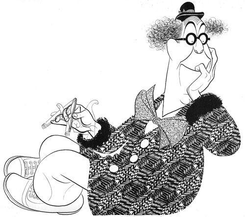 Al Hirschfeld (Ed Wynn)