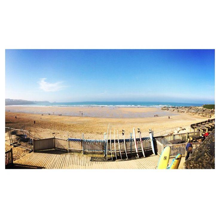 Fistral Beach is the Best Beach (Feb 2015)