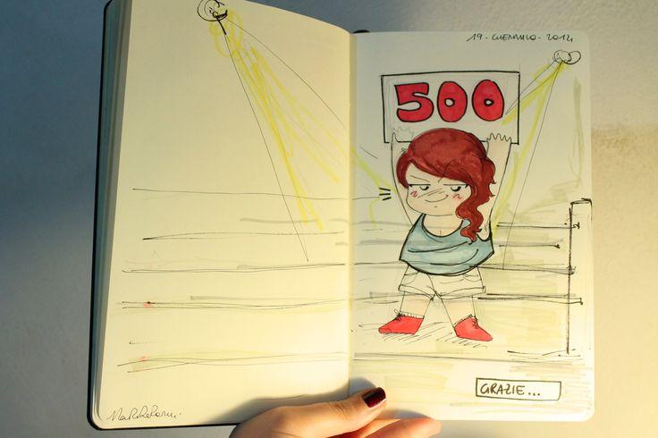 500 like to Martaderenzicreations