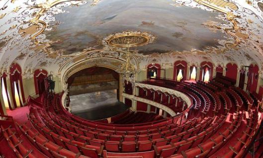 teatrul national vasile alecsandri Iasi Theatre opera Romania culture hall