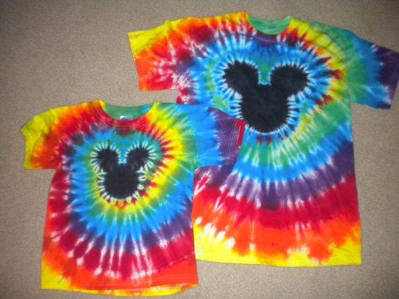 Custom Order For Careygirl 5 Mouse Head Tie Dye Kid