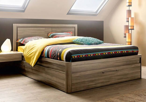1000 id es sur le th me lits rangement int gr sur pinterest dosseret du roi t tes de lit. Black Bedroom Furniture Sets. Home Design Ideas