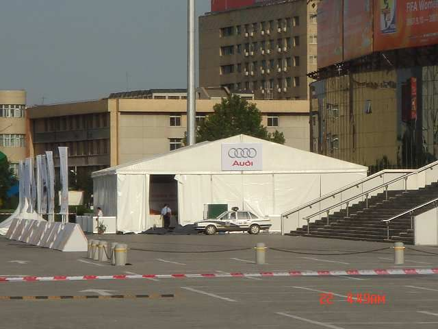 The range of large tents from Shelter is available in width spans from 8m to 50m the modular nature of Shelter's large tent systems allow designs of any length that are accomplished by adding 5m long prolongation bays to the tent. Build it as long as you need! www.shelter-structures.com