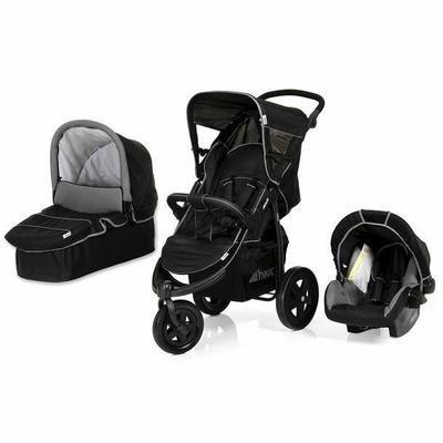 Modèle Viper - Poussette combinée trio : Poussette 3 roues + Siège auto Gr. 0+ + Nacelle souple non utilisable en voiture - Dès la naissance - Jusqu'à 15 kg - Garçon & Fille - Livrée à l'unité - Coloris : Caviar/grey - De la naissance à 15 Kg - Livré