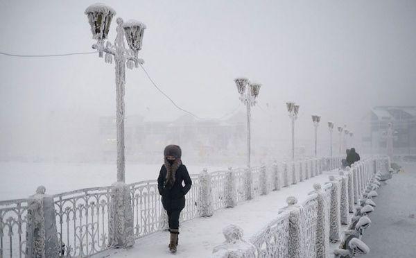 Každodenní život v nejchladnější vesnici na světě zachycený na fotografiích.