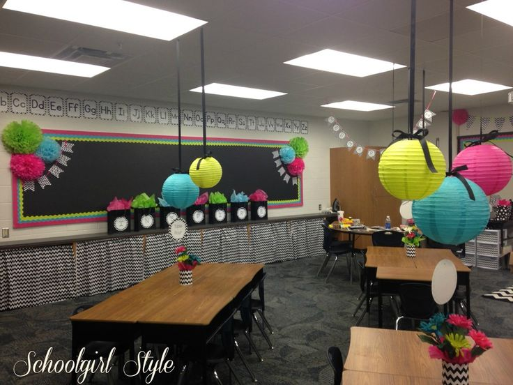 Chevron-classroom-decor-by-Schoolgirl-Style1.jpg 1,024×768 pixels