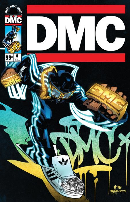 Hip-Hop legend DMC's new comic!