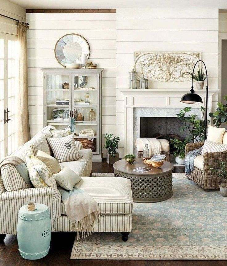 38 Ideas For Living Room: 38 Wonderful Country Home Decor Ideas