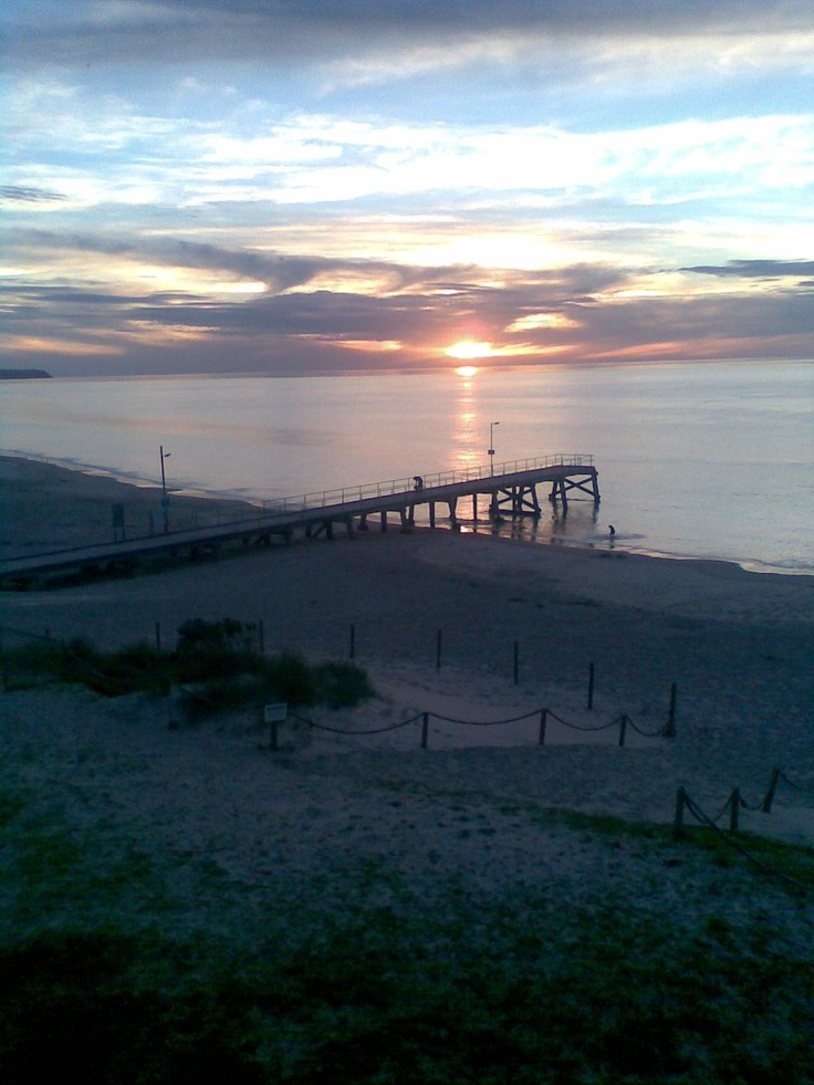 Normanville Beach sunsets