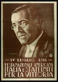4. luglio 1918, Festa nazionale americana, Italia e Stati Uniti per la vittoria  / L. Martinati