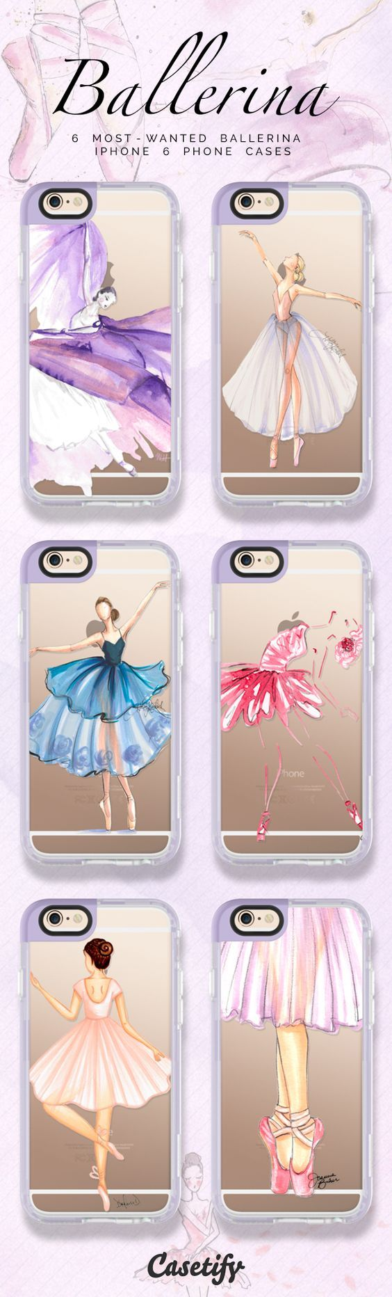 6 Most wanted ballerina iPhone 6 protective phone cases