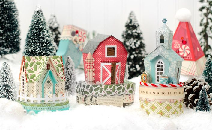 Santa's Village SVG Kit - $6.99 : SVG Files for Silhouette, Sizzix, Sure Cuts A Lot and Make-The-Cut - SVGCuts.com
