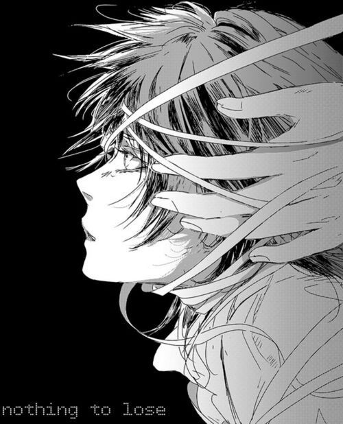 Anime In Black And White: Anime Black And White