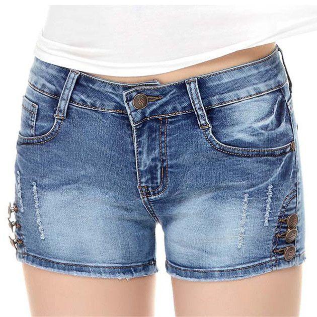 Girls hot pants Who's Got