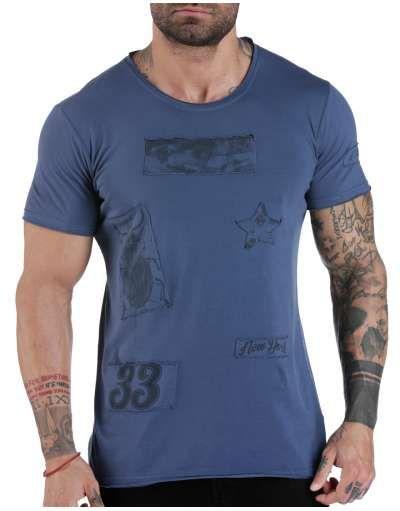 ΝΕΕΣ ΑΦΙΞΕΙΣ :: T-shirt Bugs & Beetles Blue - OEM
