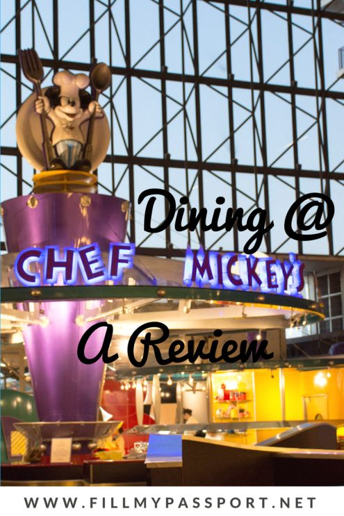 Do you want to eat with disney characters when you're visiting Disney World? If so, you have to go check out Character Dining at Disneyworld's Chef Mickey's. We LOVED meeting the Disney characters and eating with them and know you will too. Come see what to expect and save this to your travel board so you can find it later. #characterdining #chefmickeys #disneyworld #mickeymouse #donaldduck #goofy #pluto #royalfloridian #chefmickeysbuffet