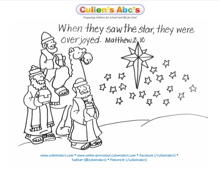 free epiphany coloring pages - photo#22