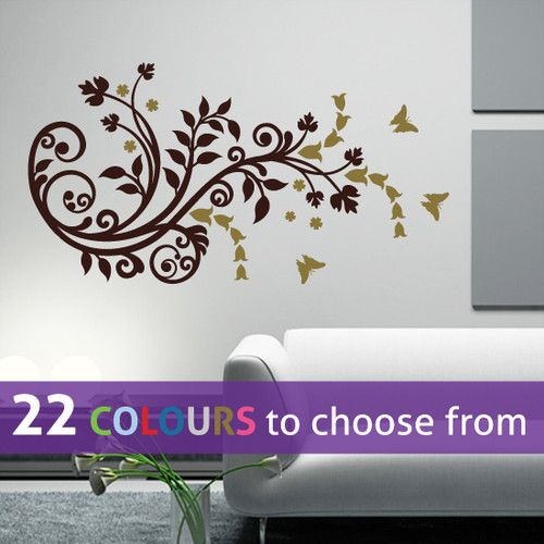 121 best wall decals images on pinterest | vinyl wall decals, wall