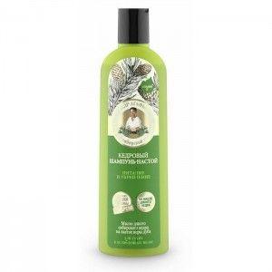 Cedrowy szampon Nalewka Odżywienie i Wzmacnianie na bazie soku dzikich jagód przeznaczony do
