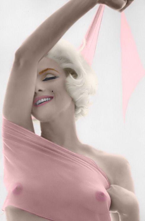 Marilyn Monroe by *bert stern*