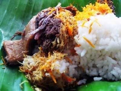 Nasi Krawu - Berikut ini ada cara membuat video resep nasi krawu komplit ncc ala sajian sedap bu tiban gresik atau timan surabaya jawa timur yang terkenal enak.