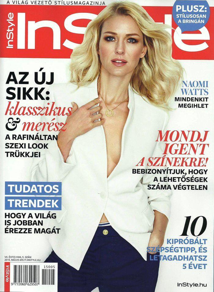 Naomi Watts (2015.05. InStyle)