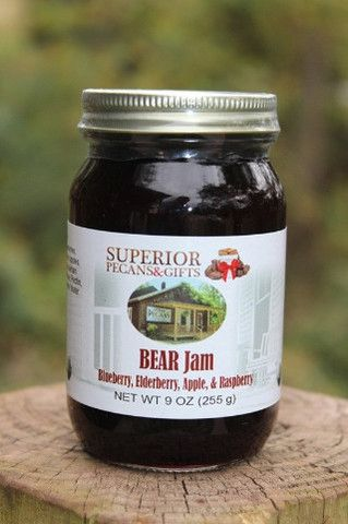 Blackberry, Elderberry, Apple, and Raspberry Jam - Good enough to make you GROWL!