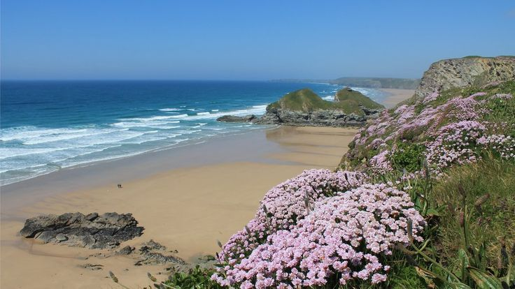 Pam Hill took this shot of Whipsiderry Beach in Newquay.