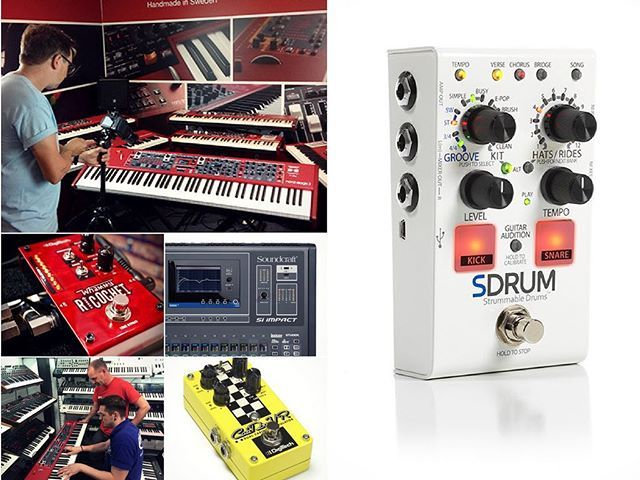 #ThisWeek is live! Featuring the fantastic new SDRUM from DigiTech | Free Soundcraft Si Impact v2.0 Firmware | A new Musicians Blog post - Popular Techniques with the Whammy Ricochet | The Nord Stage 3 on Tour with our product specialist Rob Wallace | #NordSpeedyTutorial - How to use the Rotary simulation on an Electro 5… . . . #nord #nordkeyboards #blog #musiciansblog #blogger #tutorial #musician #piano #stage3 #tour #digitech #whammy #whammyricochet #pedal #pedalfx #digitechfx #guitar…