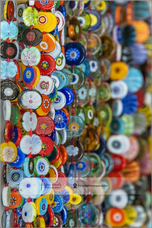 Murano glass colors | Italy