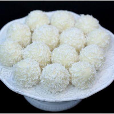 Homemade Raffaello - Almond Coconut Candies #3 @keyingredient