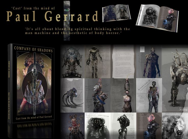Company of Shadows by Paul Gerrard - ITS ART