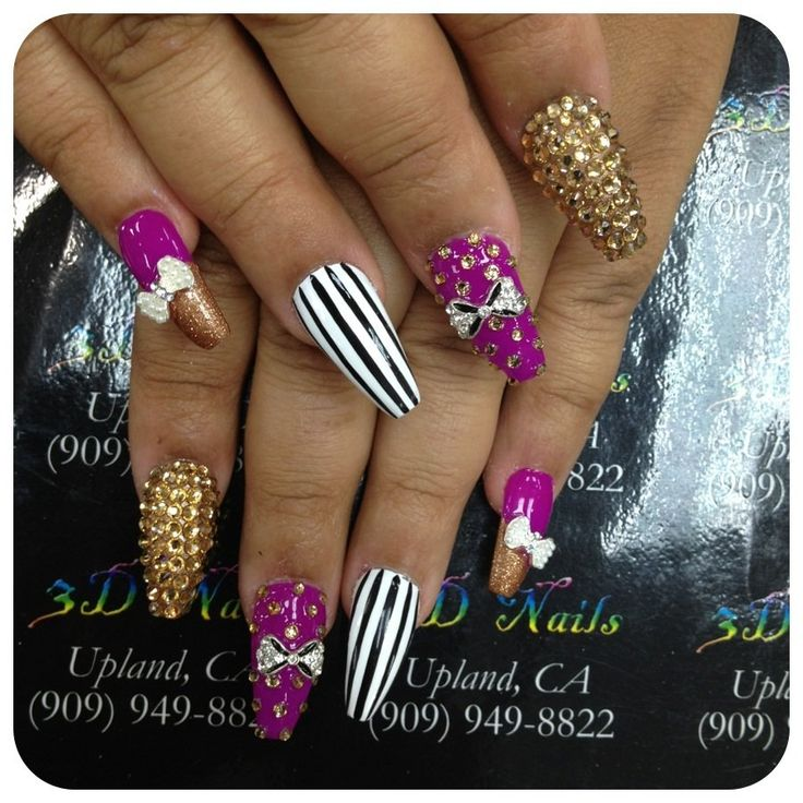 3D Nails - Upland, CA, United States. By EMILY