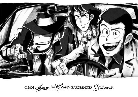 LUPIN III '3 in 500' by handesigner on DeviantArt