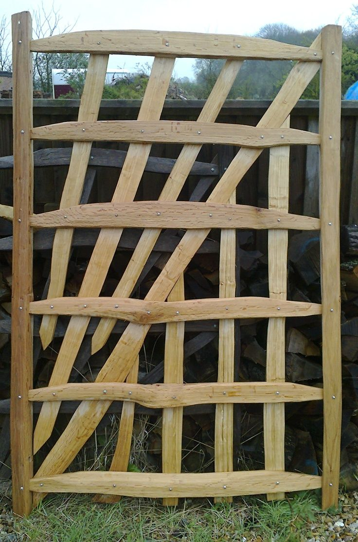 English cleft oak gates and fences