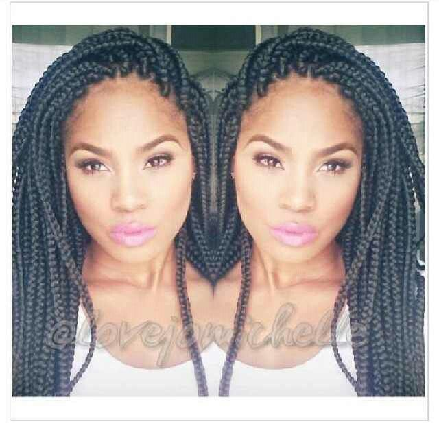 Crochet Box Braids Too Heavy : images about Box Braids/Crochet Braiding on Pinterest Big box braids ...