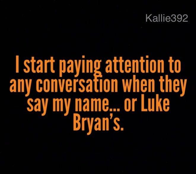"""Yep, that's me! But..if they really want my attention, they just say """"Luke"""" ;-)"""