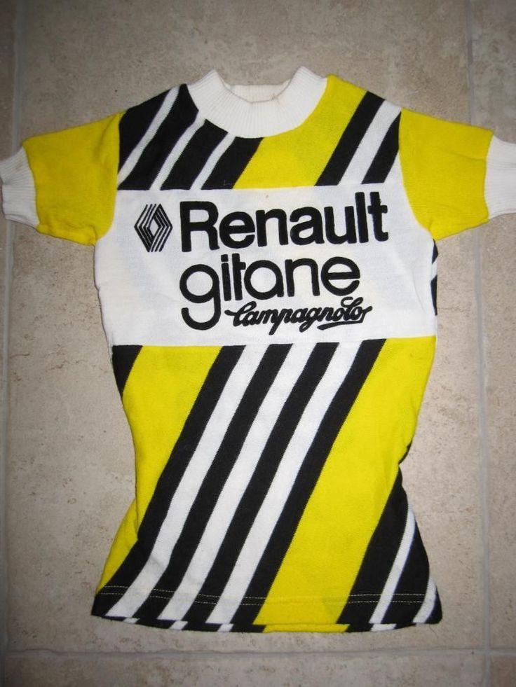 Maillot Cycliste Vintage Renault Gitane Tour DE France 1981 6 8 ANS | eBay
