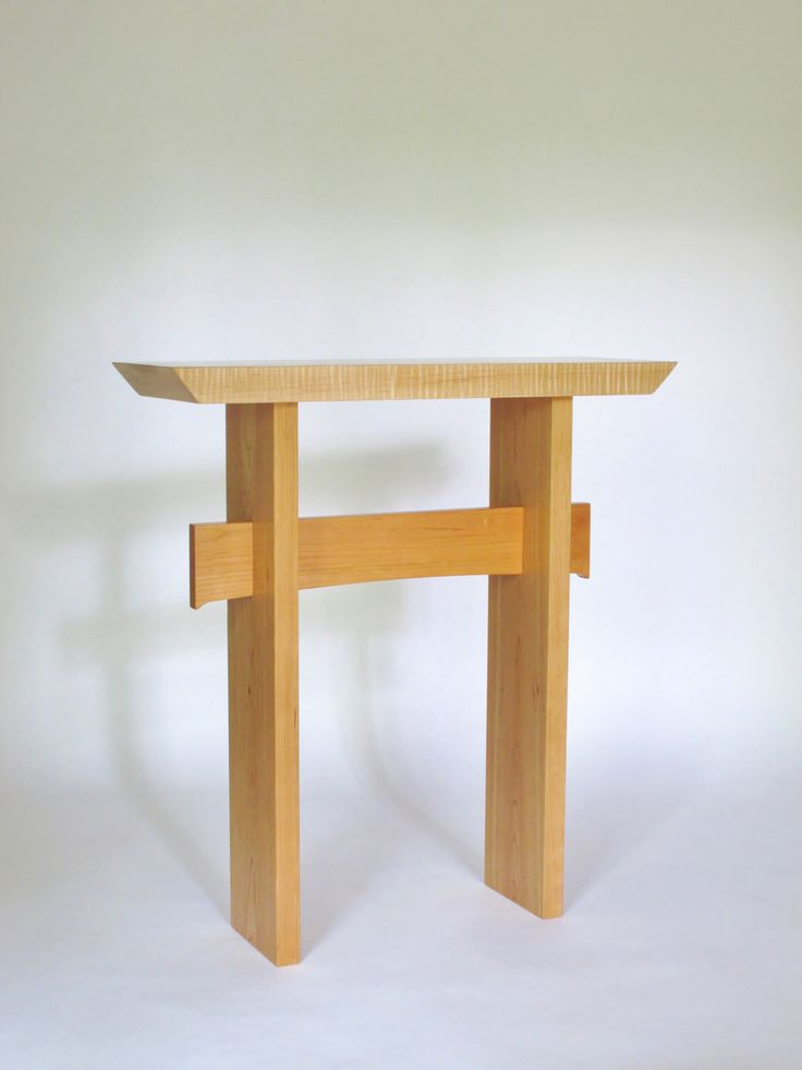 Small Narrow Side Table- Wood Entry table, Console Table, Narrow Hall Table-