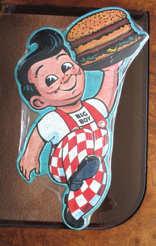 Bob/'s Big Boy Collection Metal Sign