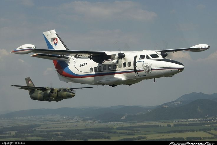 Vzdušné sily OS SR (Slovak Air Force) Let L-410UVP-E Turbolet - 2421