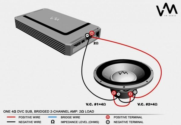 Single Voice Coil Wiring Diagram from i.pinimg.com