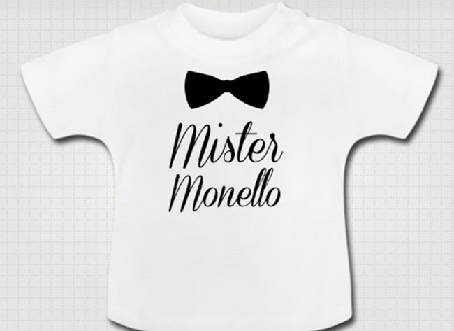 T-SHIRT BABY mister monello