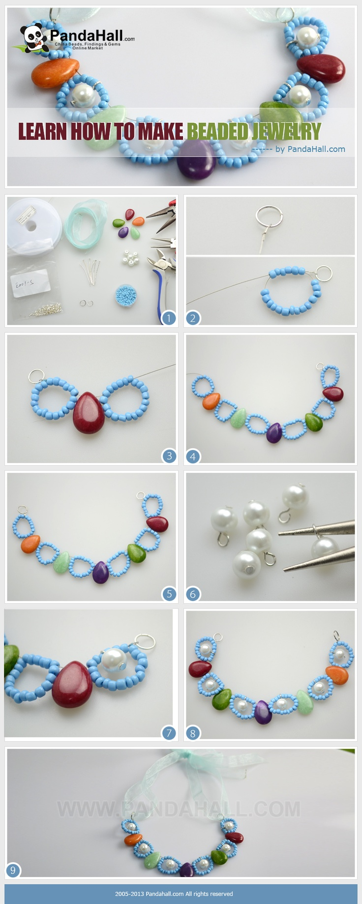 To learn how to make beaded jewelry is the lifelong pursuit of most craft fancier, especially for the beloved ones, the passion and desire even increase much as the time changing. Hence, today, I will show you a tutorial on how to make beaded jewelry for kids.