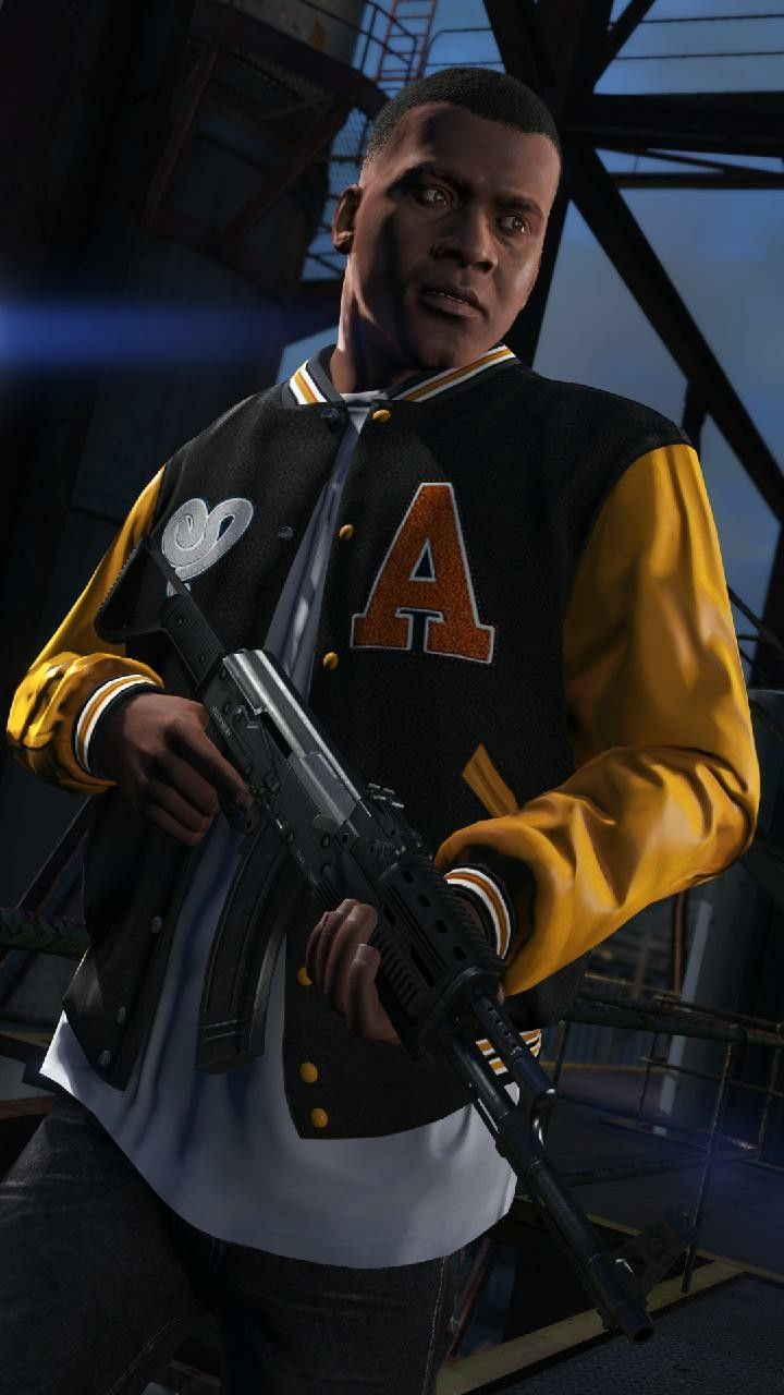 Franklin Gta V Hd Wallpaper Android In 2020 Gta Grand Theft Auto Gta 5