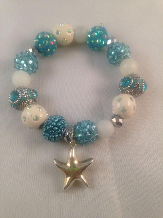 Streatchy Bracelet Made With Jesse James Beads in by TriniGaiya, $18.00