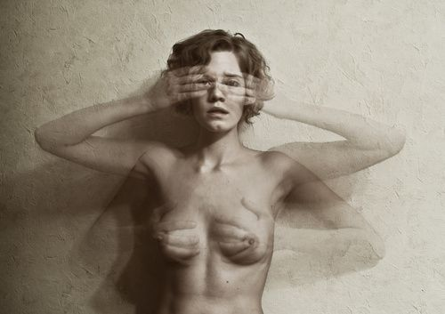 Elena Vizerskaya – self portrait